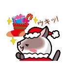 シャム猫ちゃん! クリスマスバージョン♪(個別スタンプ:18)