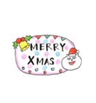 年末年始スタンプ《クリスマス~お正月》(個別スタンプ:1)