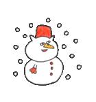 年末年始スタンプ《クリスマス~お正月》(個別スタンプ:6)