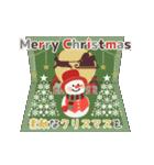 カードセット▶年末年始お正月&クリスマス(個別スタンプ:01)