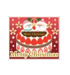 カードセット▶年末年始お正月&クリスマス(個別スタンプ:02)