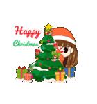 Christmas Cute Girl(個別スタンプ:3)