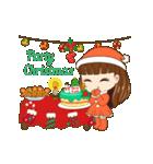 Christmas Cute Girl(個別スタンプ:8)