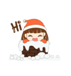 Christmas Cute Girl(個別スタンプ:9)