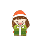 Christmas Cute Girl(個別スタンプ:10)