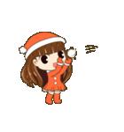 Christmas Cute Girl(個別スタンプ:12)