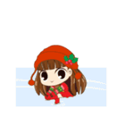 Christmas Cute Girl(個別スタンプ:13)