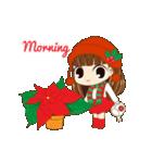 Christmas Cute Girl(個別スタンプ:16)