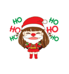 Christmas Cute Girl(個別スタンプ:19)