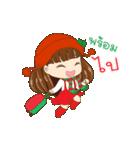 Christmas Cute Girl(個別スタンプ:20)
