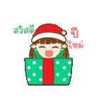 Christmas Cute Girl(個別スタンプ:22)