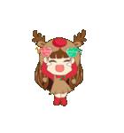 Christmas Cute Girl(個別スタンプ:23)