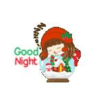 Christmas Cute Girl(個別スタンプ:24)