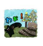 【X'mas & お正月】おとぼけダックス(個別スタンプ:03)