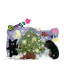 【X'mas & お正月】おとぼけダックス(個別スタンプ:04)