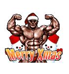 筋肉マッチョマッスル・クリスマス爆弾 4(個別スタンプ:01)