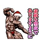 筋肉マッチョマッスル・クリスマス爆弾 4(個別スタンプ:28)