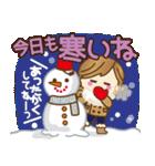 【冬〜春♥年末年始】皆に使えるスタンプ(個別スタンプ:3)