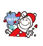 くるくるくる頭Ⅲクリスマス(個別スタンプ:09)