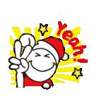 くるくるくる頭Ⅲクリスマス(個別スタンプ:11)