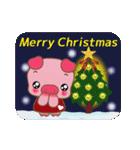 コブタのクリスマス(個別スタンプ:25)
