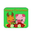 コブタのクリスマス(個別スタンプ:27)
