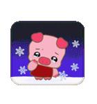 コブタのクリスマス(個別スタンプ:38)