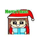 動く!6つのキャラクターのX'masプレゼント(個別スタンプ:01)