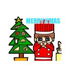 動く!6つのキャラクターのX'masプレゼント(個別スタンプ:04)