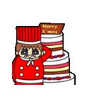動く!6つのキャラクターのX'masプレゼント(個別スタンプ:08)