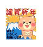 しばぽよのお正月【戌年】(個別スタンプ:03)