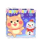 しばぽよのお正月【戌年】(個別スタンプ:04)