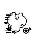 ゆるくま 番外編1 サッカー(個別スタンプ:02)