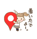 かわいい名古屋弁JK 3(個別スタンプ:31)