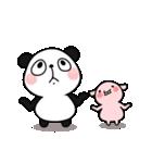 パンダ&デッパ(個別スタンプ:19)