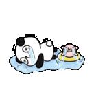 パンダ&デッパ(個別スタンプ:24)