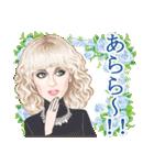麗しの瞳~日本語バージョン~(個別スタンプ:10)