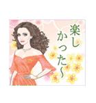 麗しの瞳~日本語バージョン~(個別スタンプ:36)