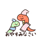 癒し系へびちゃん&シロクマの日常(個別スタンプ:03)