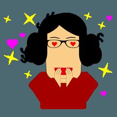猛烈おばあちゃんの毎日のスタンプ4