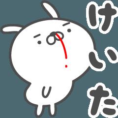 あおいぷん★けいた★専用うさぎ☆鼻血