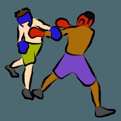 続ボクシング練習生のための地味なスタンプ