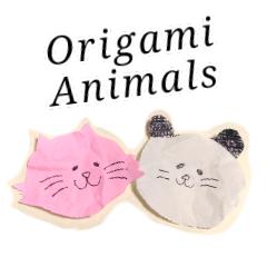 折り紙アニマルズ(英語と日本語)