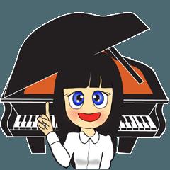 ピアノ講師が生徒に送る音楽スタンプ第2段