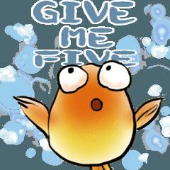 ルシという金魚とアンソニーというミツバチ