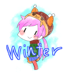 ぺちっと 冬