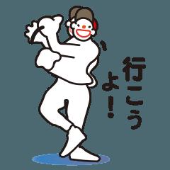 ヒップホップダンスのスタンプ3(日本)