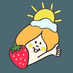 果物とお花たち