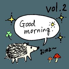 ハリネズミ Hedgehog vol.2