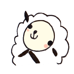 羊のシャロちゃん~クリスチャンスタンプ2
